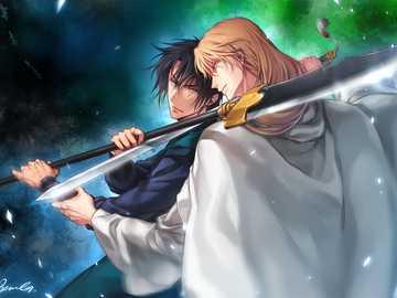 neonowe myśliwce - syn Hak i król Su-wygrał od jony świtu w walce na śmierć i życie.