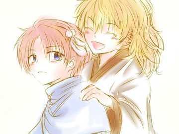 Zenone e Yun! - Zenone e Yun di Yona dell'alba. non sono carini!