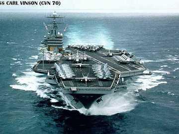 Aircraft carrier - USS Carl Vinson - CVN 70 - Aircraft carrier - USS Carl Vinson - CVN 70