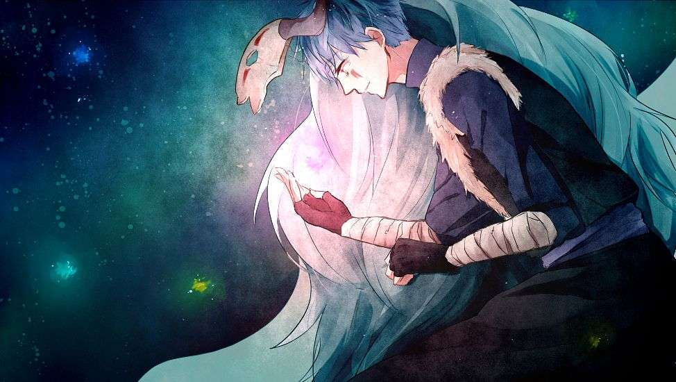 Moonlight - Sin-ha the blue ddragon from yona of the dawn. Yona once said that Sin-ha was her moonlight, and whe