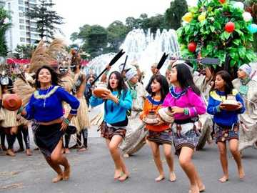 SHIPIBA DANCE OF THE JUNGLE REGION - It is a dance from the Amazon jungle
