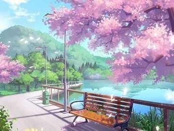 posto per riposare - vicolo con panca - un bel posto per rilassarsi