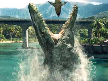Mosasaur - Gigantyczne zwierzę wodne