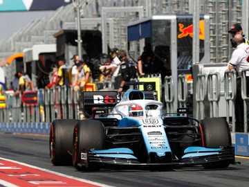 williams - formule 1 an 2020 australie