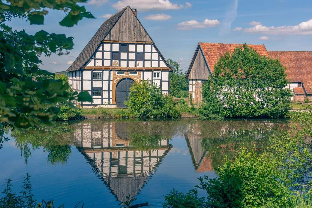 Architecture - half-timbered houses