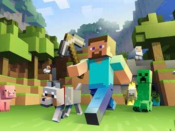 Puzzle de la mine - Un puzzle Minecraft, pouvez-vous l'assembler?