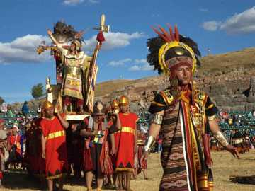 INTI RAYMI - The inti raymi is a tradition to the Sun god
