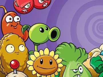 puzzle plantes contre zombies - puzzle plantes contre zombies