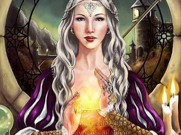 Dana - The Celtic Goddess of the Sun - Dana - The Celtic Goddess of the Sun