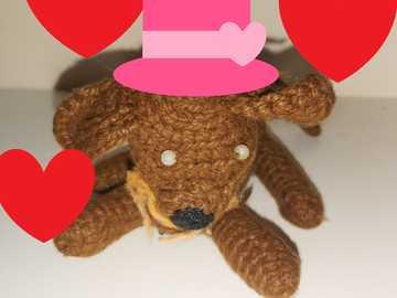 ternruita - śliczny szczeniak w kapeluszu