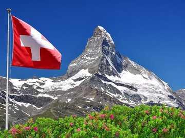 Szwajcaria. - Szwajcaria. Matterhorn.