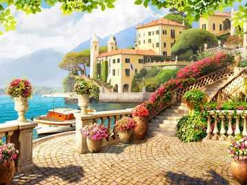 En Toscane. - L'Europe . Italie. Toscane.