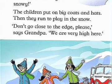 la grosse boule de neige - page du livre pour travailler en classe