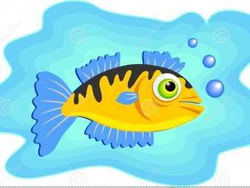 Les poissons et leur maison - Les poissons et leurs poissons domestiques vivent dans l'eau