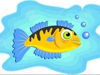 Ψάρια και το σπίτι τους - Τα ψάρια και τα ψάρια τους ζουν στο νερό