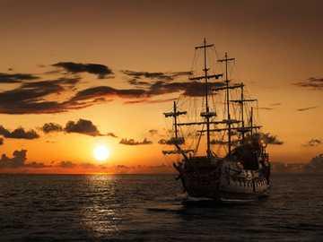La vengeance de la reine Anne - L'histoire enregistre Barbe Noire comme l'un des pirates les plus notoires; mais ses premi
