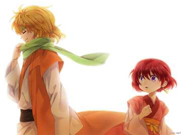 passing shadow - Zeno from Yona of the dawn walking by a little yona!