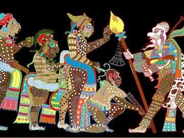 Układanka Majów - Puzzle Majów z Meksyku