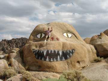 cantos rodados en alguna parte - rocas en algún lugar de Arizona