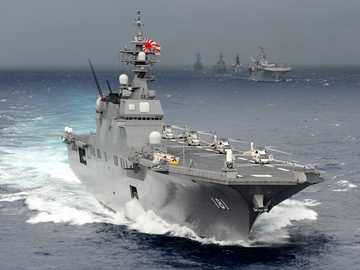 Hyuga-class helicopter destroyer - Hyuga-class helicopter destroyer - Japanese Navy