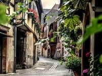Une petite ville d'Alsace