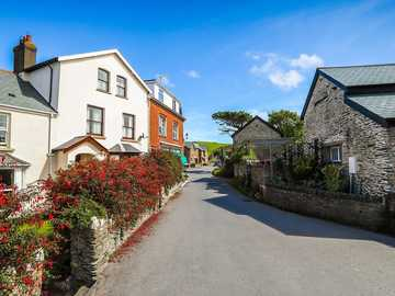 English countryside - coastal village --------------