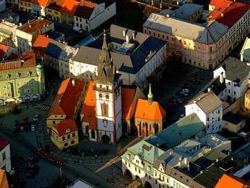 Městská věž a Kostel Nanebevzetí Panny Marie - Městská věž a Kostel Nanebevzetí Panny Marie