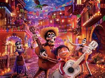 Película de coco - Coco es una película de fantasía estadounidense animada por computadora en 3D de 2017 producida po