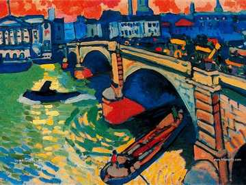 Fovism in 20th century art - puzzles about an Andre Derain play