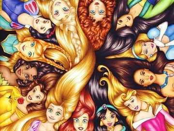 Piękne księżniczki Disneya =) - Piękne księżniczki Disneya =)