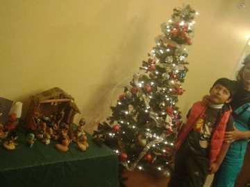 Boże Narodzenie w Kanadzie - Zdjęcie Margarity i Leandro odwiedzających Rosę