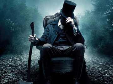 Abraham Lincoln Vampire Hunter - Photograph of the film Abraham Lincoln Vampire Hunter