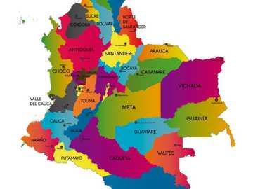 Ułóż mapę Kolumbii! - Poznajmy Kolumbię, tworząc tę zabawną mapę
