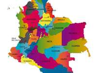 Συγκεντρώστε το χάρτη της Κολομβίας! - Γνωρίστε την Κολομβία! Ας γνωρίσουμε την Κολομβία μαζί
