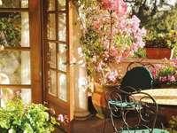 Im Garten .....