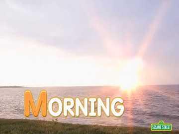 m is for morning - lmnopqrstuvwxyzlmnop