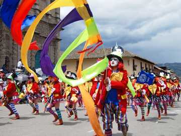 Cajamarca's Carnival - One of the most picturesque carnivals in Latin America is held in the Peruvian city of Cajamarca. Th