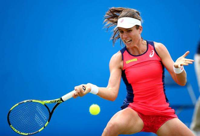 Johanna Konta - Johanna Konta gioca a tennis