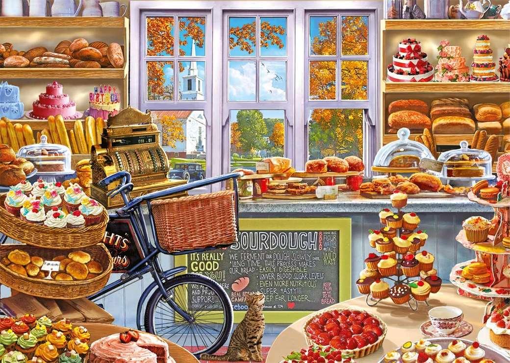 panadería - Panadería, pan, panecillos, pasteles, tarta, golosinas