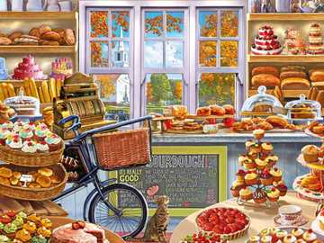 bakery - Bakery, bread, rolls, cakes, tart, treats