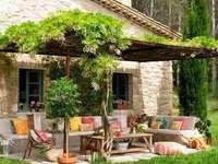 Wypoczynek w ogrodzie - Wypoczynek w ogrodzie - lato!!!