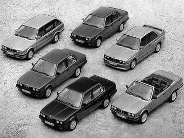 Carros deportivos - Esta es una foto de todos los modelos de automóviles