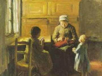 babička a dvě vnoučátka - babička a dvě vnoučátka