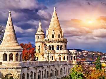 Budapest - Budapest - torre de pesca / panorama