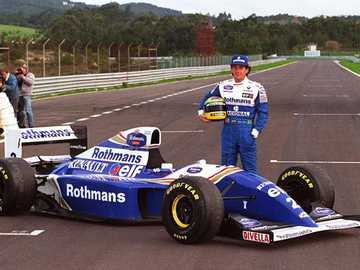 Ayrton Senna - FW16 - Wliians-Renault - Ayrton Senna - FW16 - Wliians-Renault