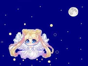 sailor moon - es una caricatura japonesa
