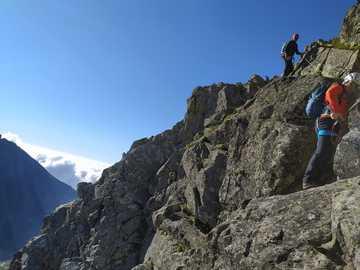 Wysokie Tatry - Gerlach - W słowackiej górze