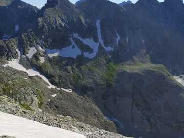 High Tatras - to Gerlach - Two people on their journey