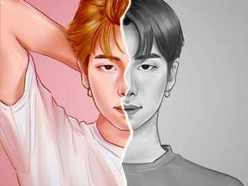 Kim NamJoon (BTS) RM - Kim Namjoon (RM) leader del gruppo BTS