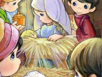 Jezus w żłobie - Narodziny Jezusa